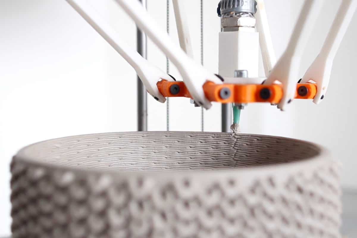 3d print ceramic knitted